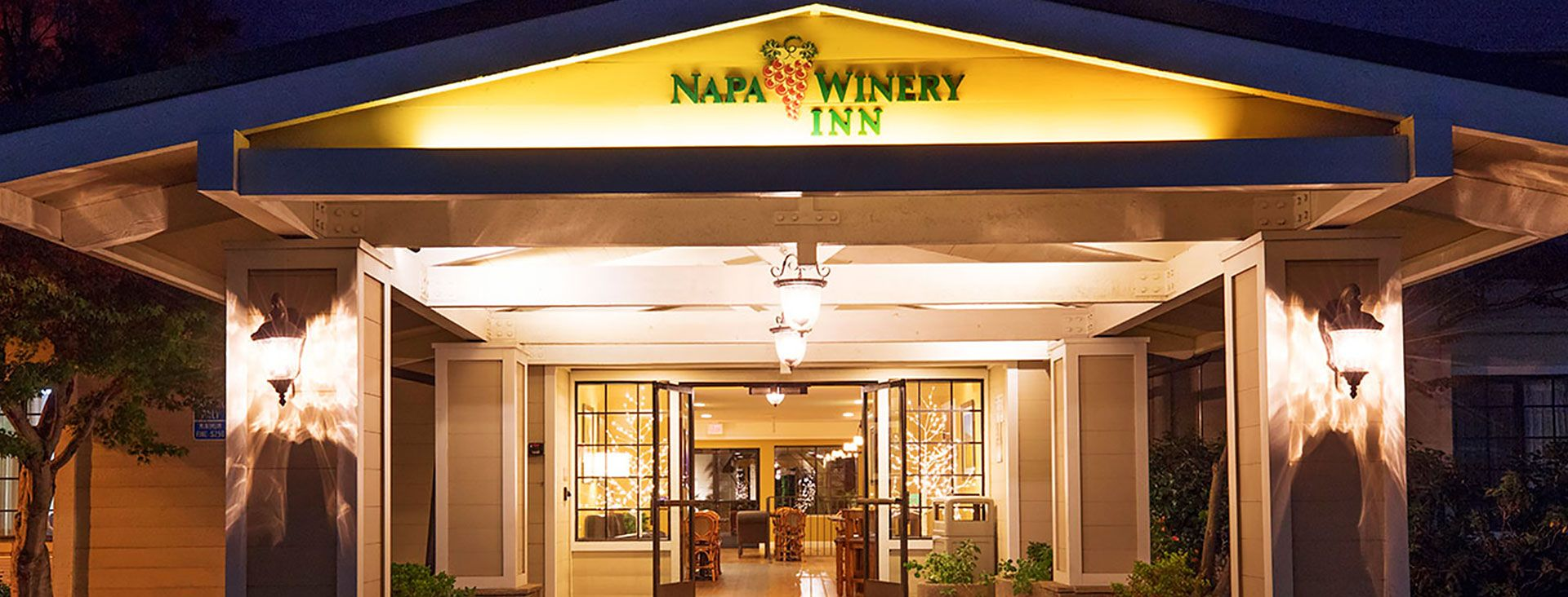 Napa Winery Inn Hotel Entrance