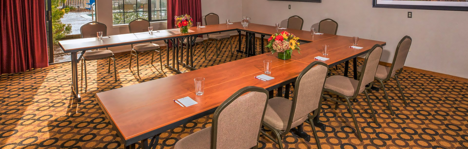 Meetings & Events at Napa Winery Inn Hotel, California